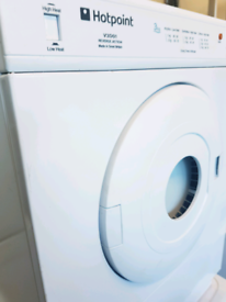 Hotpoint small 3 kg vented dryer been served free delivery