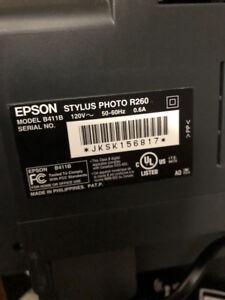 Imprimante à jet d'encre Epson Stylus Photo R260