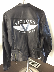 Women's Victory Leather Jacket Size M (new)