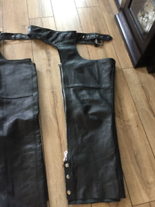 Women and men leather Chaps