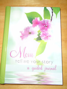 Mom Tell Me Your Story a Guided Journal 96  Pages $10 Hardcover