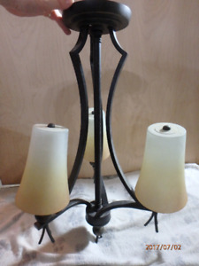 Rod Iron Dining Room Light Pendant