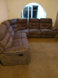 Huge sofa for sale just 6 weeks old, immaculate condition.