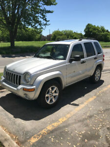 Jeep Liberty *Limited* 2003, 4X4 V6 - Winter tires included