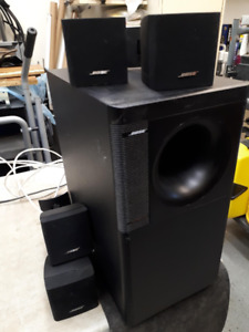 ensemble 1 Sub & 4 Speaker Bose, Freespace, Hauparleur,