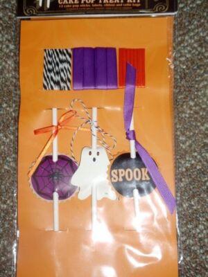 Williams Sonoma Meri Meri Halloween Cake Pop Treat Kit NEW - Halloween Cakepop