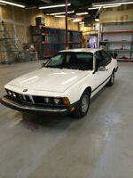 BMW 633CSI Coupe 5 SPD E24