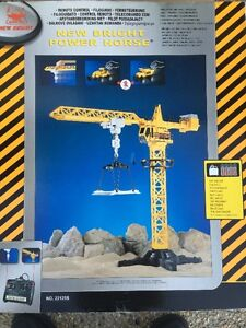 New Bright Power Horse Tower Crane W/Remote Control