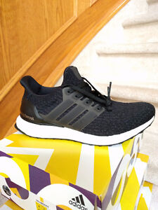 Adidas Ultra Boost Core Black 3.0 / Sizes 8, 10.5, 12 / DS
