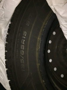 Civic Winter Tires on Rims like new