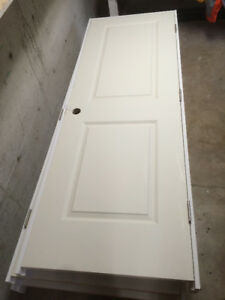 Prehung interior door