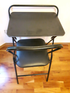 Folding Desk and chair