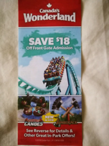 Canada's Wonderland Fall Pass