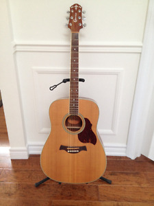 Crafter Acoustic Guitar & Case