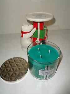 Bath& Body Works Christmas Candle and Stand (New) Windsor Region Ontario image 2