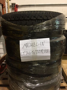 4 Michelin LT tires