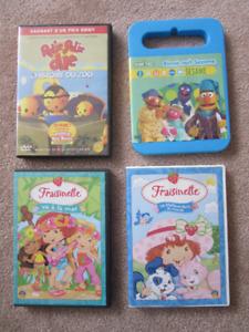 Children's French DVDs