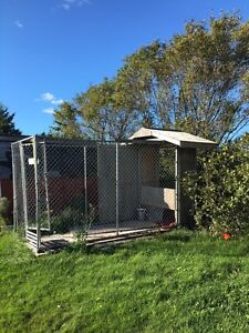 6ft x 12ft Eastern Fence Dog Kennel