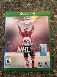 XBOX ONE GAMES - NHL 16