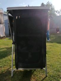 Portable camping cupboard