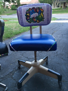 Funky Vintage Office Chair