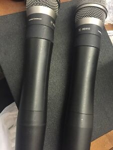 EV RE410 MICROPHONES