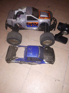 HPI Savage x nitro 4x4 monster truck RC teleguide