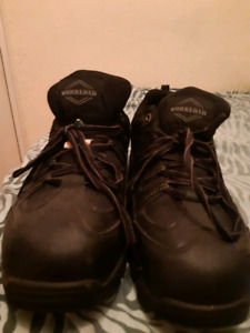 Steel toe boots- size 12