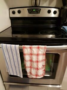Amana fridge and stove - great condition - $600