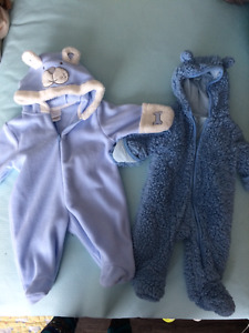 Newborn snow suits