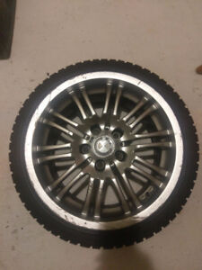 BMW 3 Series Winter Rims and Tires