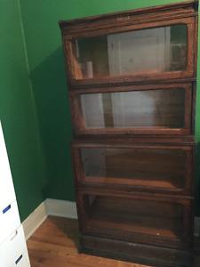 Bibliotheque avocat antique - legal (lawyer's) bookcase antique