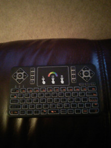 BPSMedia Wireless Mini Keyboard /Touchpad /Mouse /Multi Color Ba