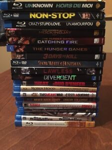 Blu-Ray Movies Lot of 19  Only 50$