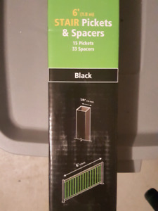 Railblazers Stair Pickets and Spacers
