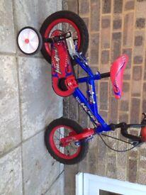 Huffy Patriot 12 inch children's bike stabilisers