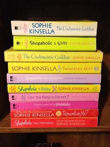 SOPHIE KINSELLA books for sale .