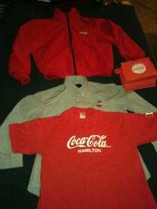 Coca Cola Sweater, Coke Work shirt and T-Shirt Promo Pack