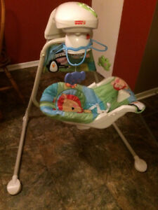 Plug in & Battery Swing-Positions,Speeds,Harness,Washable,etc