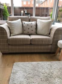 Next 2 & 3 seater sofa