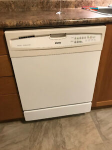 Kenmore White Dishwasher - Works Well