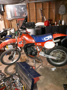 Trade 1982 cr 250r for atv or 1200$ or blown crf 250/450