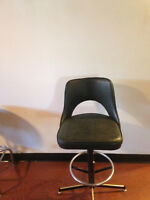 MAKE AN OFFER ON PRICE REDUCED SWIZELLING BAR STOOL WITH A BACK