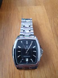 Bulova precisionist watch.