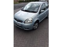 Toyota Yaris colour collection 2005 50k!