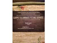 Carpets & Laminate fitting service!