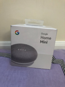 Google Home Mini - Original Packaging - Unopened - Must sell!