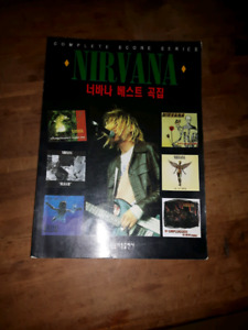 Nirvana Complete Score Series Tablature Book( Japanese import)