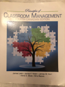 Classroom Management 4th Canadian Edition (Good condition)
