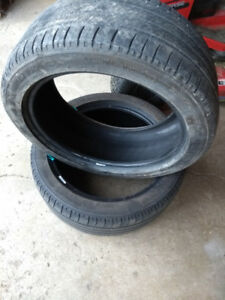 235/45R18 Michelin all season 2 tires